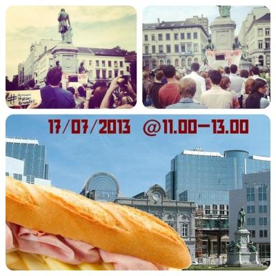 sandwich protest